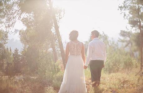 חתונה קטנה בטבע